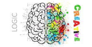 שני חלקי המוח - יצירתיות מול היגיון
